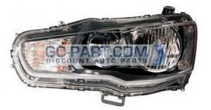 2009-2011 Mitsubishi Lancer Evolution Headlight Assembly - Left (Driver)