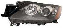 2010 - 2011 Mazda CX7 Front Headlight Assembly Replacement Housing / Lens / Cover - Left (Driver)