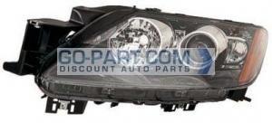 2010-2011 Mazda CX7 Headlight Assembly - Left (Driver)
