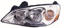 2009 - 2010 Pontiac G6 Front Headlight Assembly Replacement Housing / Lens / Cover - Left (Driver)