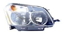 2009 - 2010 Pontiac Vibe Front Headlight Assembly Replacement Housing / Lens / Cover - Right (Passenger)