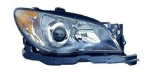 2006 Subaru Impreza Front Headlight Assembly Replacement Housing / Lens / Cover - Right (Passenger)