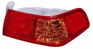 2000-2001 Toyota Camry Tail Light Rear Lamp (FKI Design Lamps) - Left (Driver)