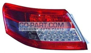 2010-2011 Toyota Camry Tail Light Rear Lamp (For Japan Built Models) - Left (Driver)