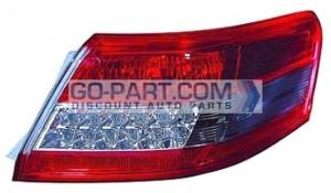 2010-2011 Toyota Camry Tail Light Rear Brake Lamp (For Japan Built Models) - Right (Passenger)