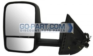 2007-2011 GMC Sierra Pickup Side View Mirror - Left (Driver)