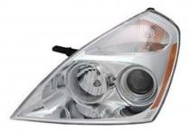 2007 - 2012 Kia Sedona Front Headlight Assembly Replacement Housing / Lens / Cover - Left (Driver)