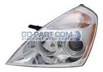 2008-2011 Kia Sedona Headlight Assembly - Left (Driver)