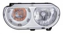 2008 - 2014 Dodge Challenger Front Headlight Assembly Replacement Housing / Lens / Cover - Left (Driver)