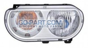 2008-2011 Dodge Challenger Headlight Assembly - Left (Driver)