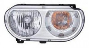2008-2014 Dodge Challenger Headlight Assembly - Right (Passenger)