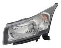 2011 - 2012 Chevrolet (Chevy) Cruze Headlight Assembly - Left (Driver)