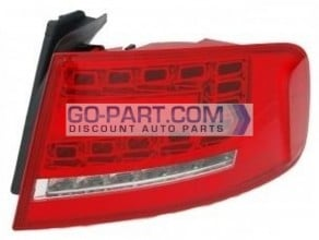 2009-2011 Audi A4 Tail Light Rear Brake Lamp (For Sedan Only) - Right (Passenger)