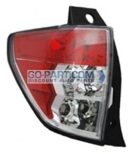 2009-2011 Subaru Forester Tail Light Rear Lamp - Left (Driver)