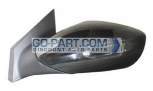 2011-2011 Hyundai Sonata Side View Mirror (Without Signal Lamp) - Left (Driver)