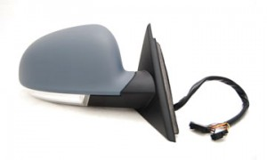 2003-2005 Volkswagen Passat Side View Mirror (with Memory) - Right (Passenger)