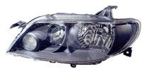 2002 - 2003 Mazda Protege5 Front Headlight Assembly Replacement Housing / Lens / Cover - Left (Driver)
