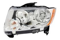 2011 - 2013 Jeep Compass Headlight Assembly - Left (Driver)