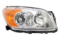 2009 - 2012 Toyota RAV4 Headlight Assembly (For BASE + LIMITED Models Only + USA Built) - Right (Passenger)