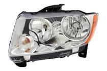 2011 - 2013 Jeep Grand Cherokee Headlight Assembly - Left (Driver)