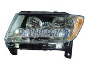 2011-2011 Jeep Grand Cherokee Headlight Assembly - Left (Driver)