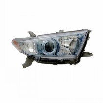 2011 - 2013 Toyota Highlander Hybrid Headlight Assembly - Left (Driver)