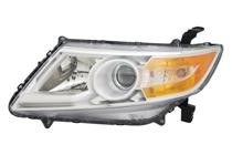 2011 - 2013 Honda Odyssey Headlight Assembly - Left (Driver)