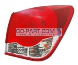2011-2012 Chevrolet (Chevy) Cruze Tail Light Rear Brake Lamp - Right (Passenger)