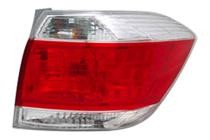 2011 - 2012 Toyota Highlander Rear Tail Light Assembly Replacement / Lens / Cover - Right (Passenger)