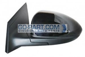 2011-2012 Chevrolet (Chevy) Cruze Side View Mirror (Heated) - Left (Driver)