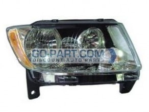 2011-2011 Jeep Grand Cherokee Headlight Assembly - Right (Passenger)