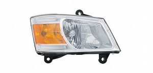 2008-2010 Dodge Caravan Headlight Assembly - Right (Passenger)