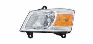 2008-2010 Dodge Caravan Headlight Assembly - Left (Driver)