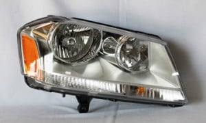2008-2010 Dodge Avenger Headlight Assembly (SXT Model) - Right (Passenger)