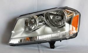 2008-2010 Dodge Avenger Headlight Assembly (SXT Model) - Left (Driver)
