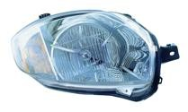 2007 - 2011 Mitsubishi Eclipse Front Headlight Assembly Replacement Housing / Lens / Cover - Right (Passenger)