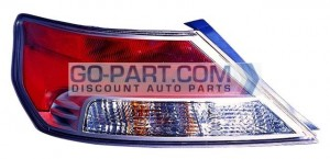 2009-2011 Acura TL Tail Light Rear Lamp - Left (Driver)