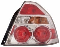 2009 - 2011 Chevrolet (Chevy) Aveo Tail Light Rear Lamp - Left (Driver)