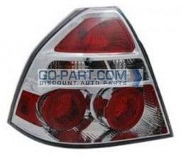 2009-2011 Chevrolet (Chevy) Aveo Tail Light Rear Brake Lamp - Left (Driver)