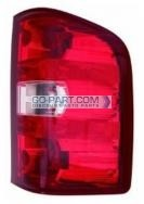 2010-2011 Chevrolet (Chevy) Silverado Hybrid Tail Light Rear Lamp - Right (Passenger)