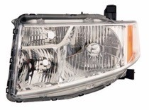 2009 - 2011 Honda Element Headlight Assembly - Left (Driver)