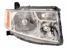 2009 - 2011 Honda Element Front Headlight Assembly Replacement Housing / Lens / Cover - Right (Passenger)
