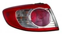 2010 - 2012 Hyundai Santa Fe Tail Light Rear Lamp - Left (Driver)