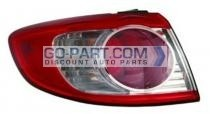 2010-2011 Hyundai Santa Fe Tail Light Rear Lamp - Left (Driver)