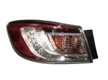 2010 - 2013 Mazda 3 Mazda3 Tail Light Rear Lamp - Left (Driver)
