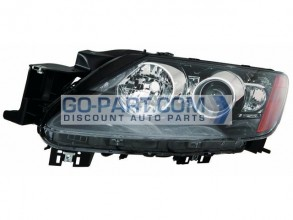 2010-2011 Mazda CX7 Headlight Assembly - Left (Driver)
