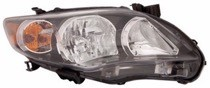 2011 - 2013 Toyota Corolla Front Headlight Assembly Replacement Housing / Lens / Cover - Right (Passenger)