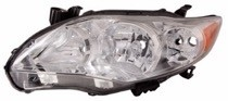 2011 - 2013 Toyota Corolla Headlight Assembly - Left (Driver)