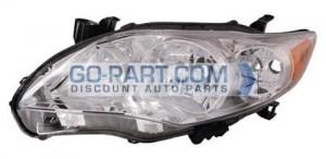 2011-2012 Toyota Corolla Headlight Assembly - Left (Driver)