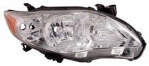 2011 - 2013 Toyota Corolla Headlight Assembly - Right (Passenger)